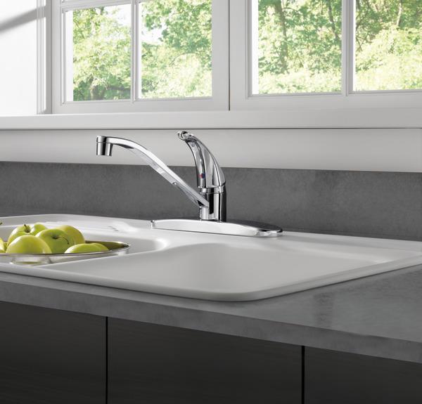 P110lf W Single Handle Kitchen Faucet