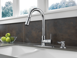 P188104lf Sd Integrated Pull Down Kitchen Faucet With