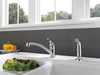 P188501lf Single Handle Kitchen Faucet With Matching