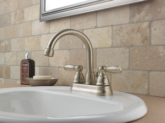 P299685lf Bn W Two Handle Bathroom Faucet