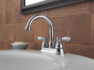 P299685lf Eco W Two Handle Centerset Bathroom Faucet