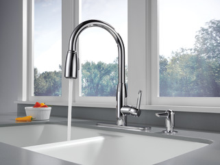 P88103lf Sd L Kitchen Single Handle Pull Down Faucet