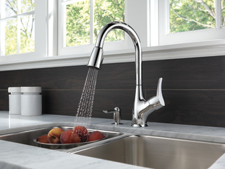 P88121lf Sd W Single Handle Pull Down Kitchen Faucet