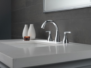 P99137lf Two Handle Widespread Bathroom Faucet