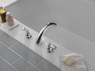 Ptt298696 Two Handle Roman Tub Trim