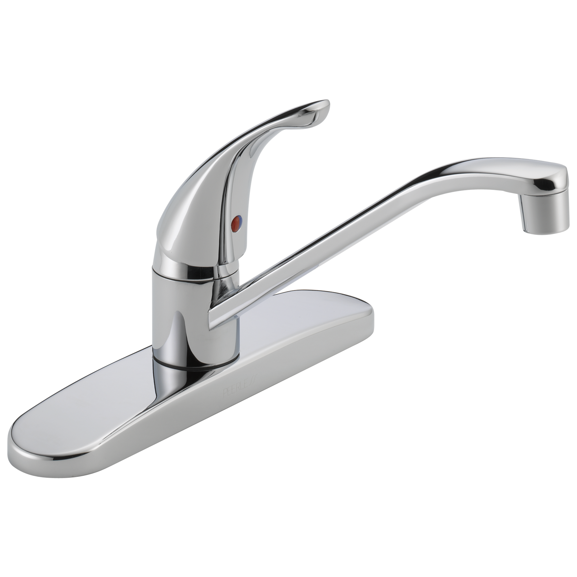 P110LF W Single Handle Kitchen Faucet
