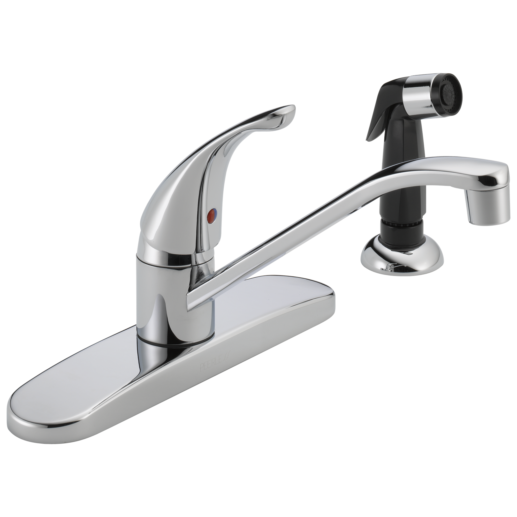 P115LF W Single Handle Kitchen Faucet