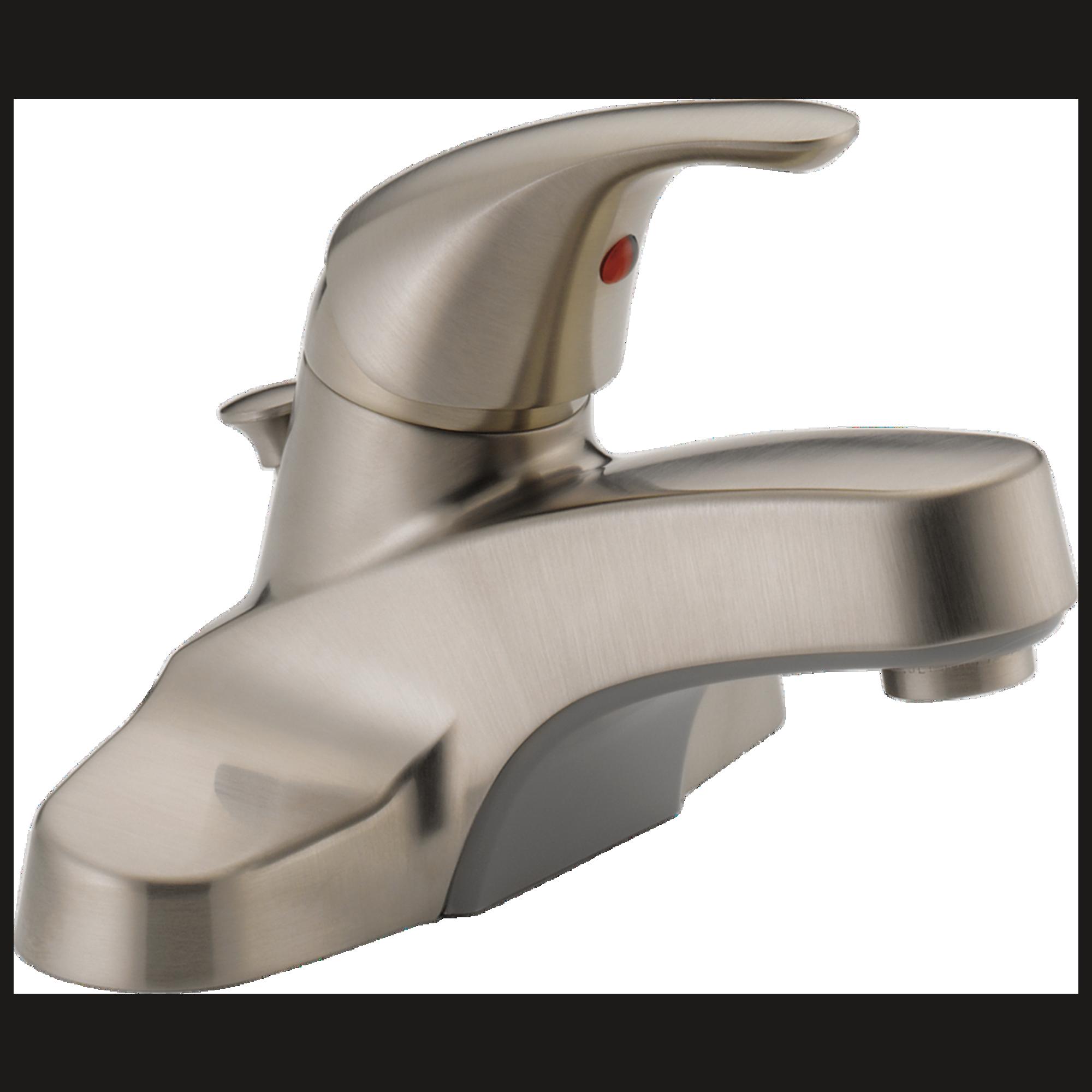 Peerless Bathroom Faucets: Peerless-P136LF-BN-M Classic, Single Handle Lavatory