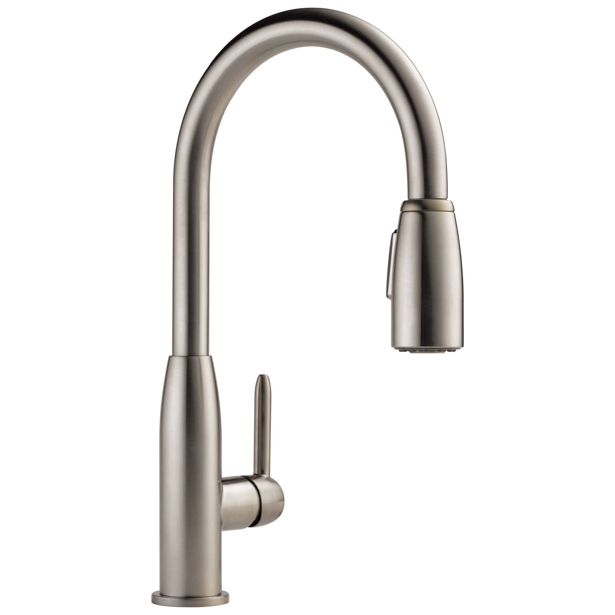 p188103lf ss single handle kitchen pull down