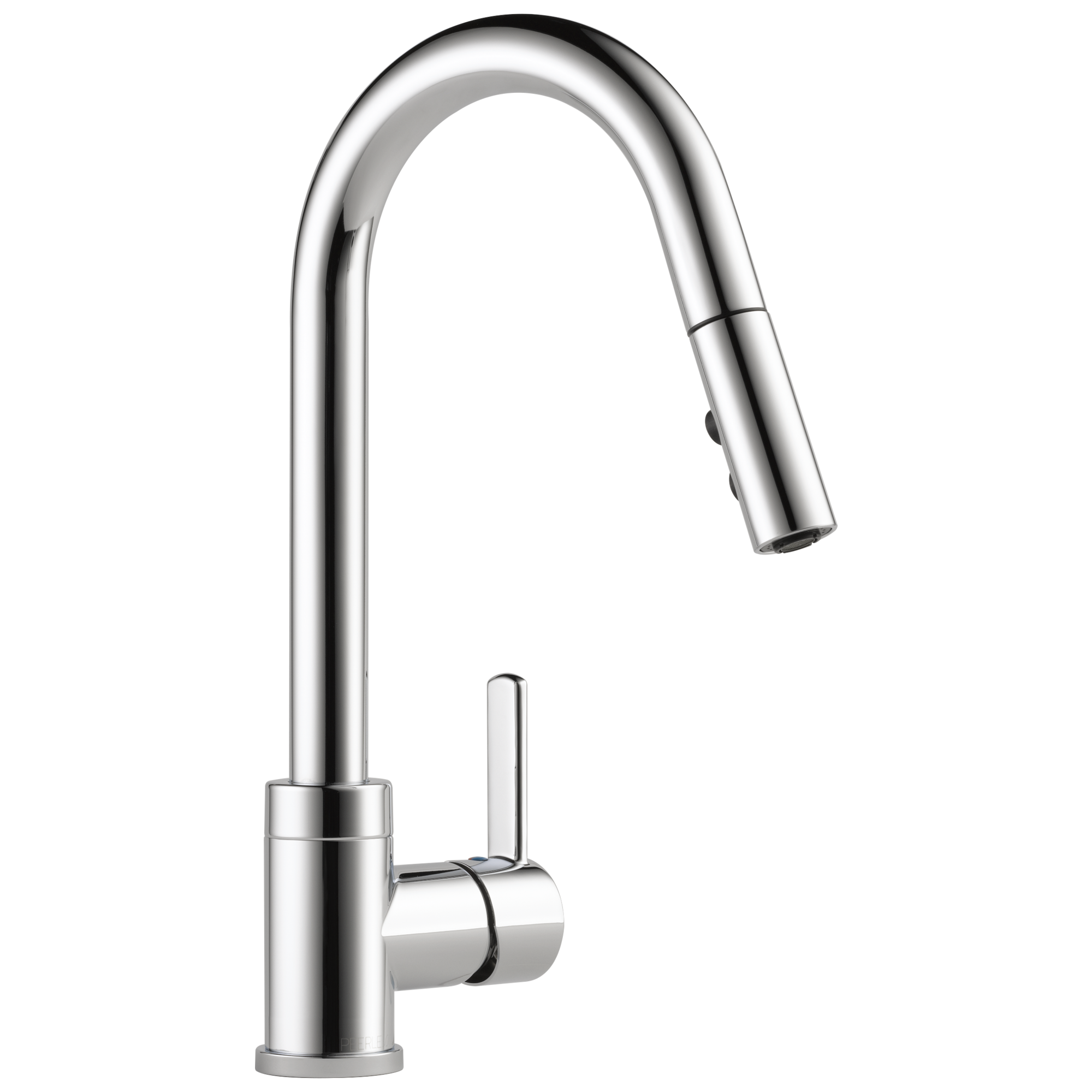 Single Handle Pull Down Kitchen Faucet. Peerless Faucet