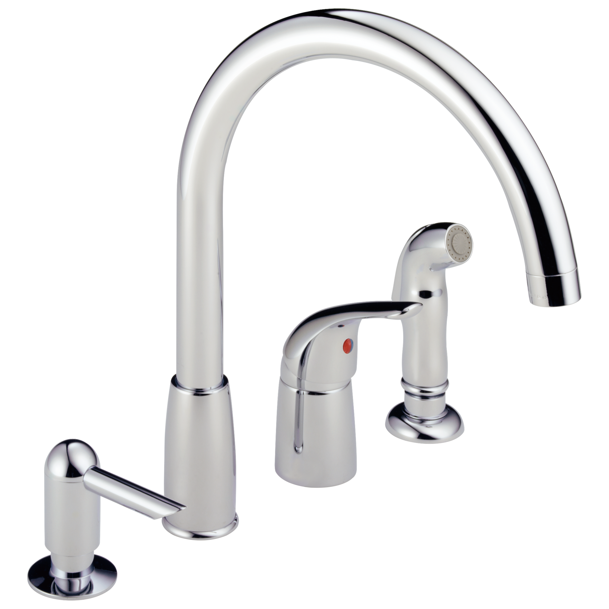 p188900lf-sd - single handle widespread kitchen waterfall with