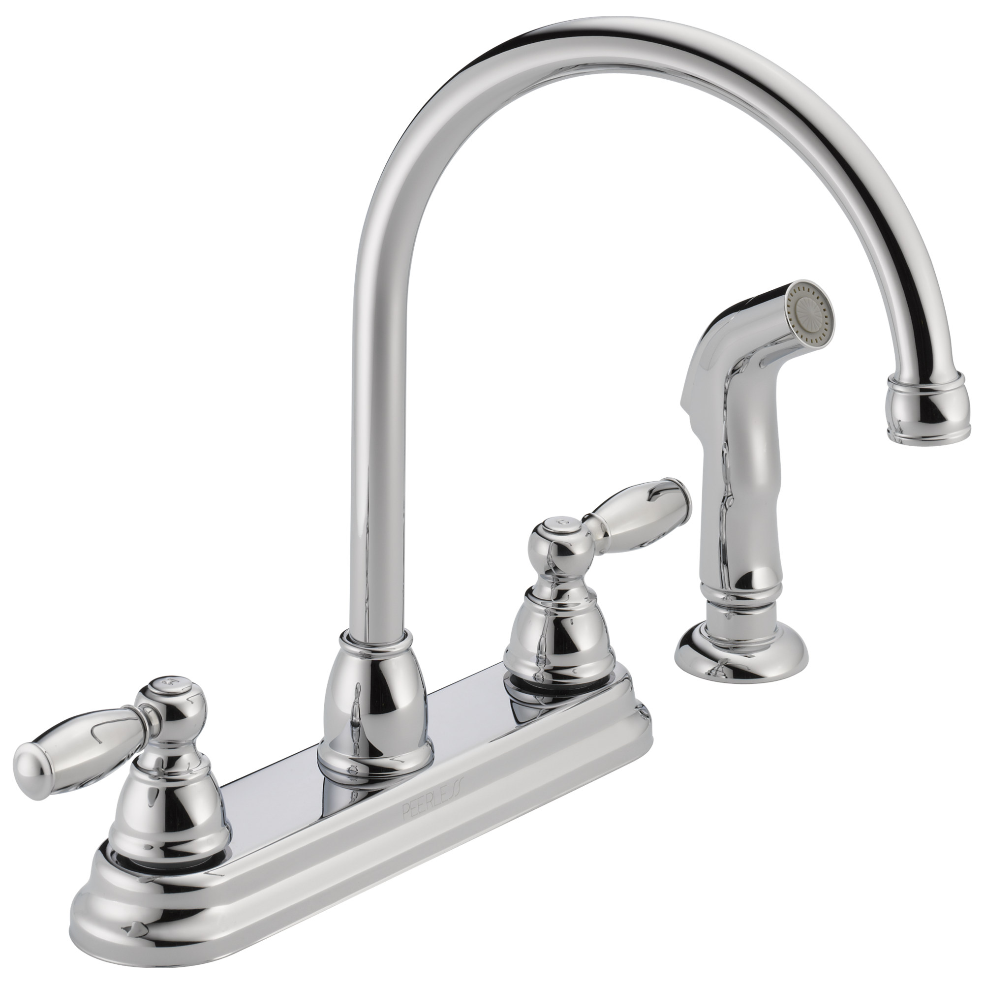 peerless shower two faucets kitchen handle faucet claymore
