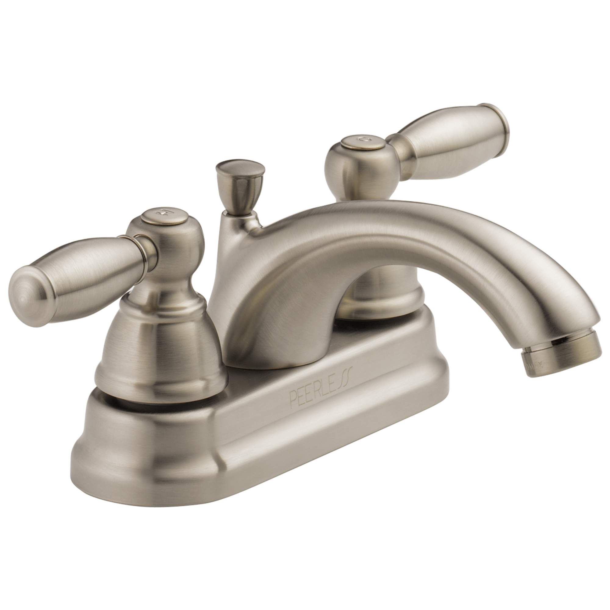 Peerless Bathroom Faucets: Peerless-P299675LF-BN Apex, 2 Handle Lavatory Faucet