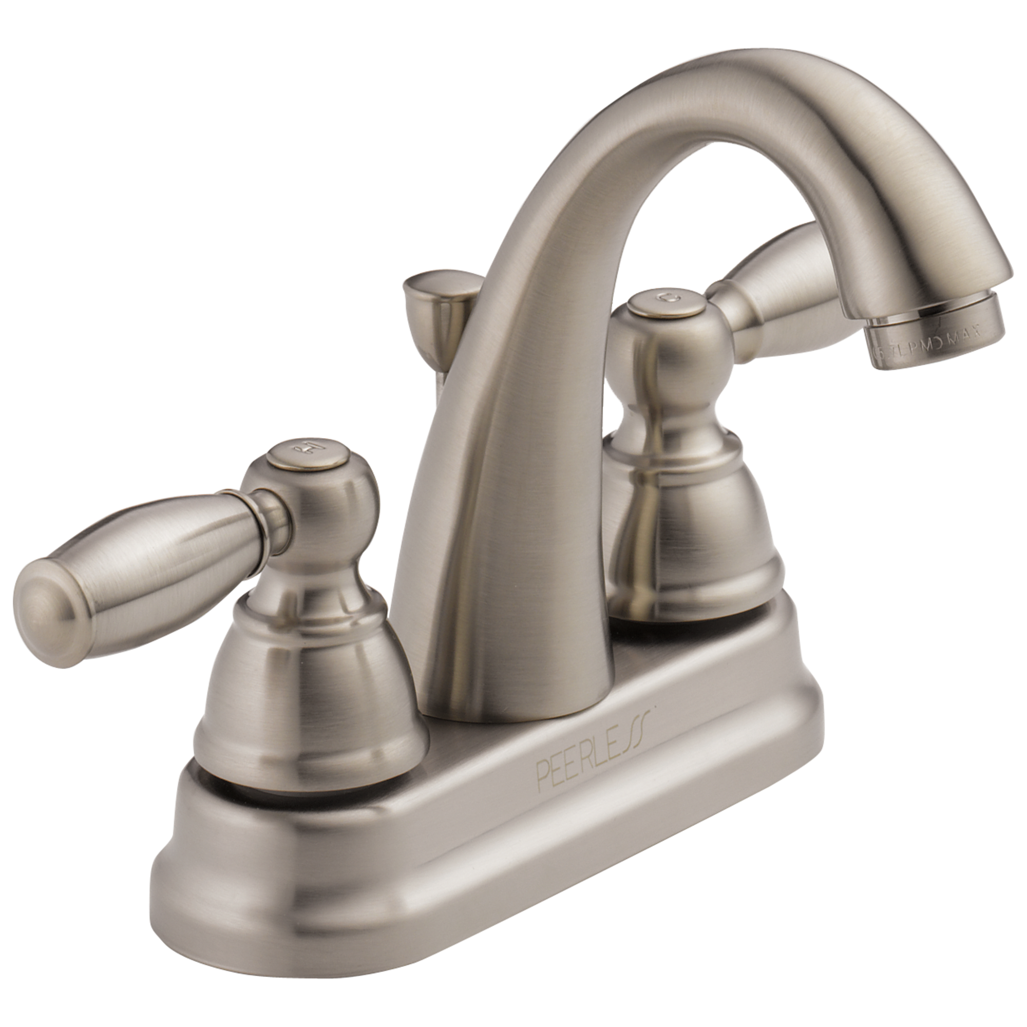 P LF BN Two Handle Lavatory Faucet