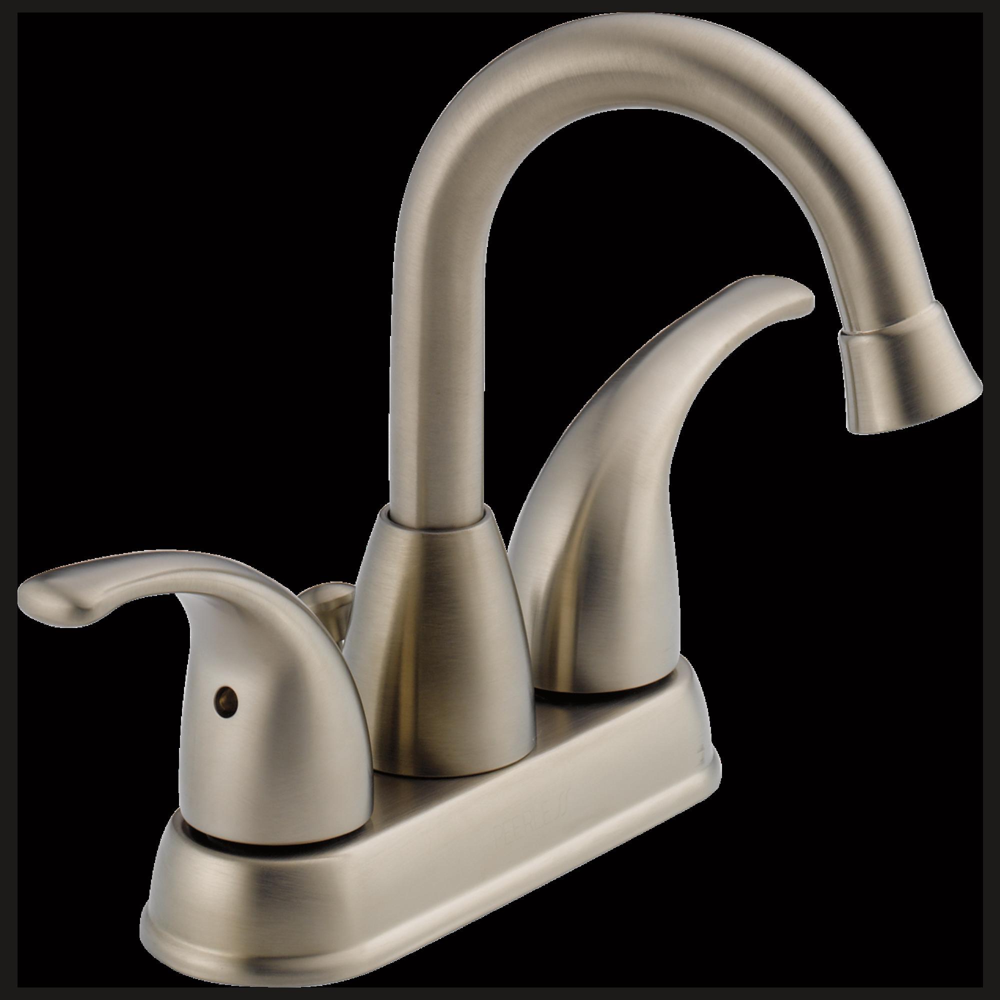 P99694LF-BN - Two Handle Centerset Lavatory Faucet