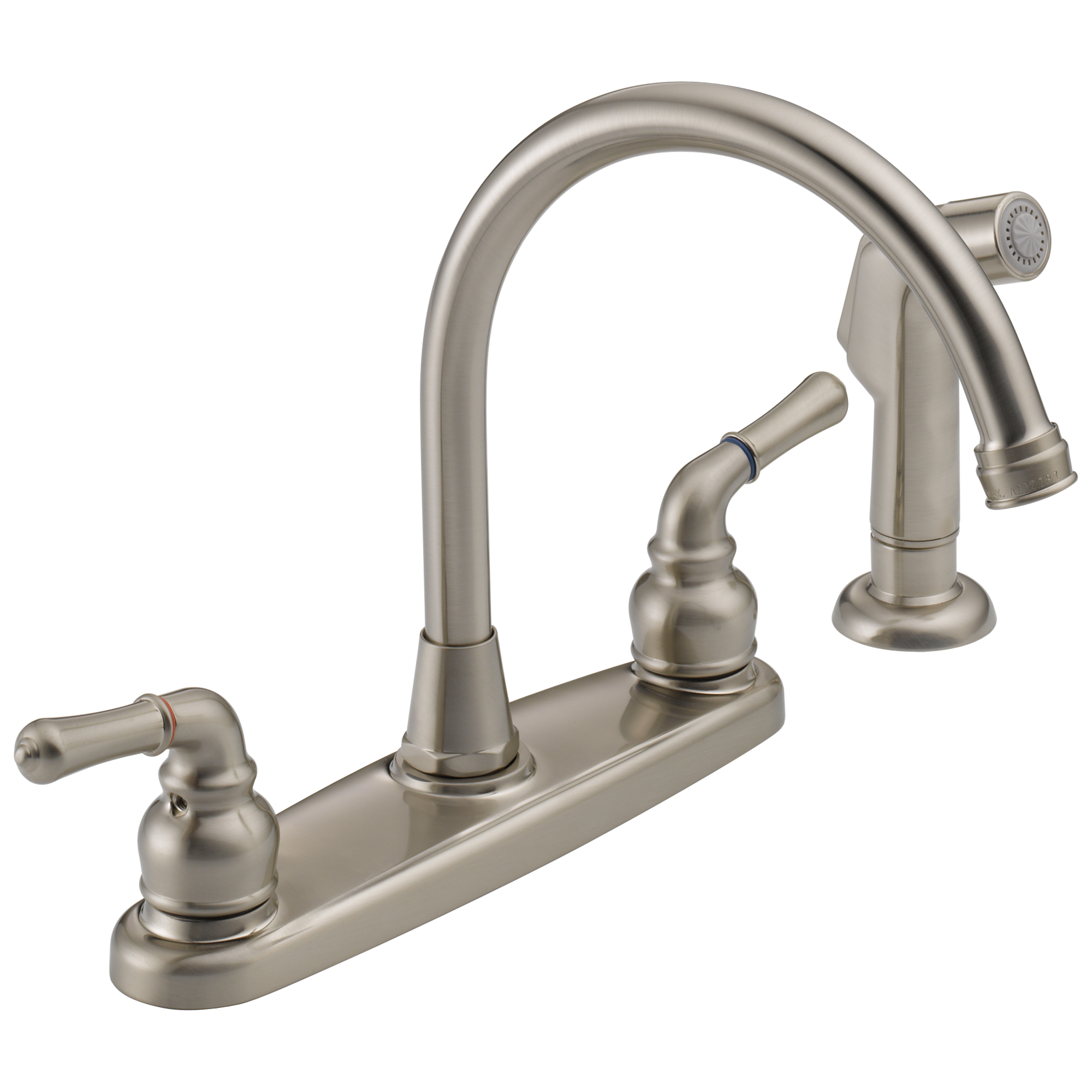 WAS01XNS Two Handle Kitchen Faucet