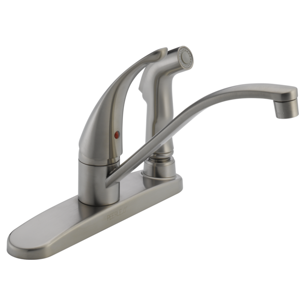P188400lf Ss Single Handle Kitchen Faucet