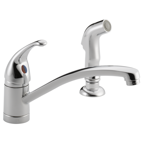 Kitchen Faucet Leaking From Handle: Single Handle Kitchen Faucet With Matching
