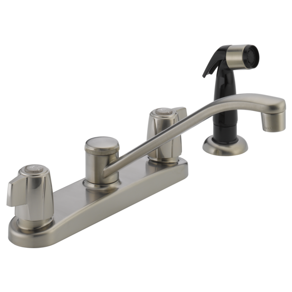 P226lf Ss Two Handle Kitchen Faucet