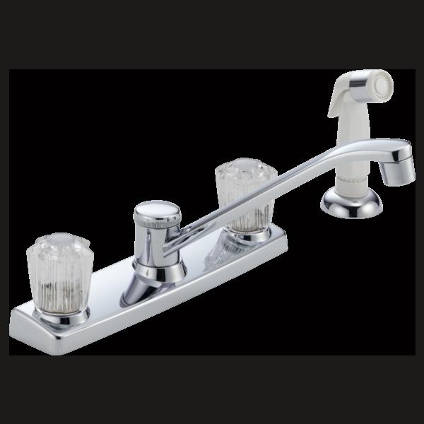 P25 L Two Handle Kitchen Faucet