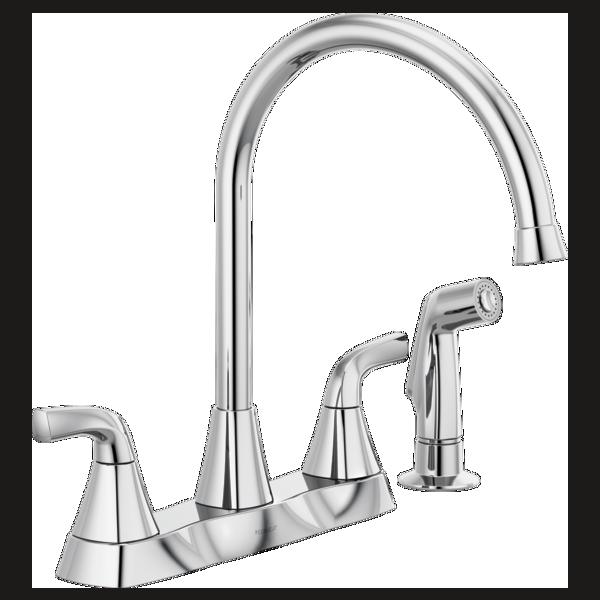P2835lf Two Handle Kitchen Faucet