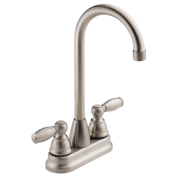 P290lf Ss Two Handle Bar Prep Faucet
