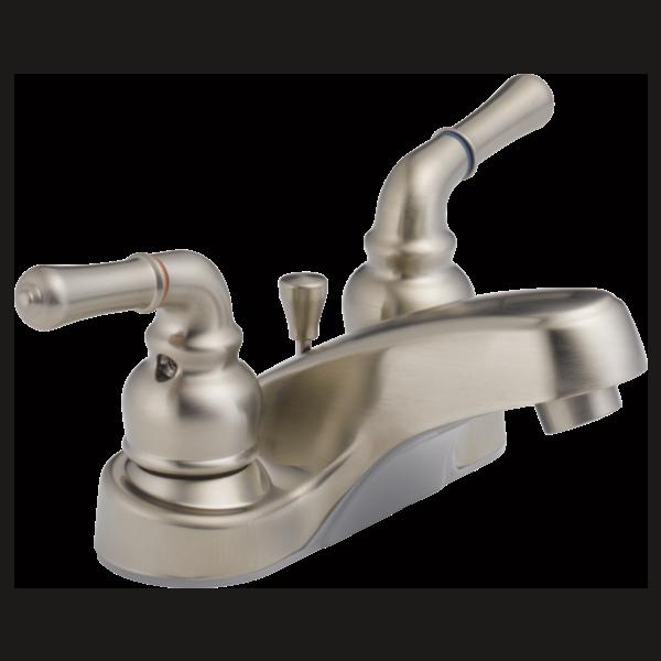 P299618lf Bn Eco W Two Handle Centerset Bathroom Faucet