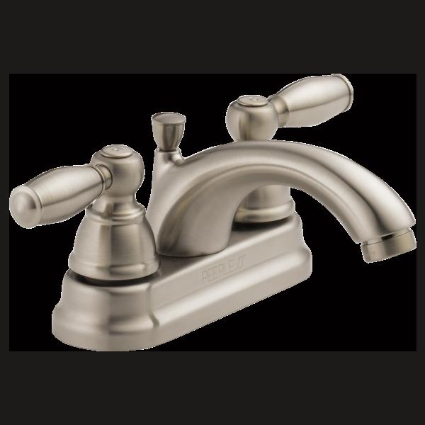 P299675LF-BN - Two Handle Bathroom Faucet