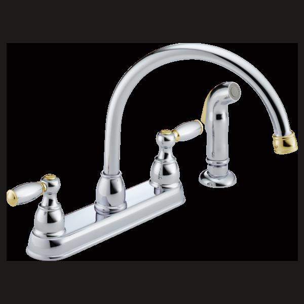 P99575 Cb Two Handle Kitchen Faucet