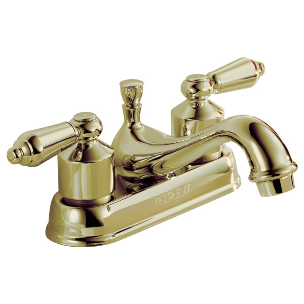 P99673 Pb L Two Handle Centerset Bath Faucet