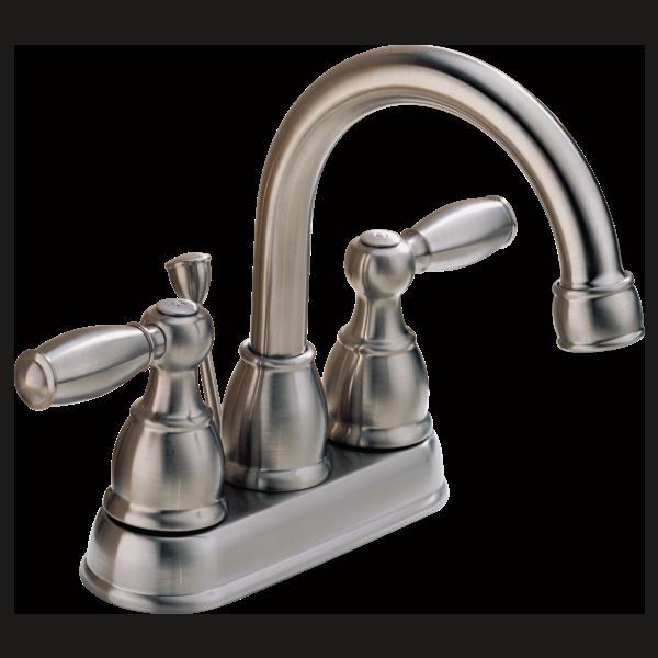 P99685 Bn Two Handle Centerset Bath Faucet