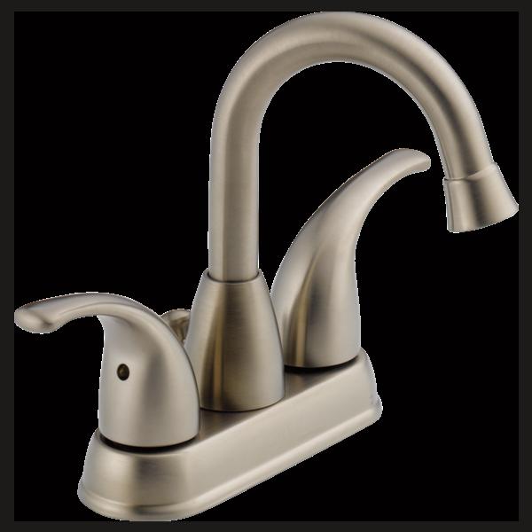 P99694lf Bn Two Handle Centerset Bathroom Faucet