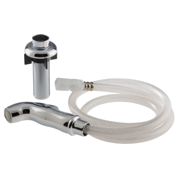 kitchen sink sprayer hose rp54807 spray and hose assembly with spray support 5955
