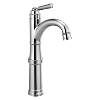 Single-Handle Bathroom Faucet with Riser