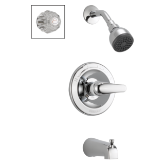 P188720 Tub and Shower Complete Combo Handles (Valve and Shower Head Sold Separately)