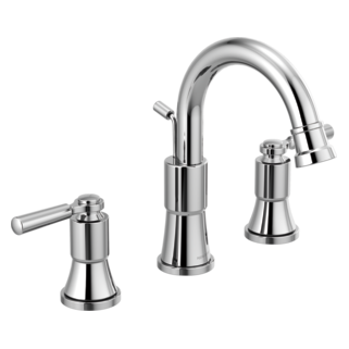 Two-Handle Widespread Bathroom Faucet