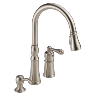 Delta Silverton 8 in. Widespread 2 Handle Bathroom Faucet in homedepot.com p Delta Silverton 8 in2Faucet in 206438767